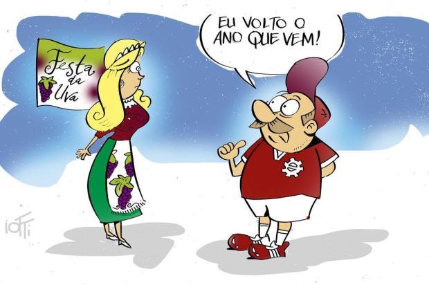 Iotti: Festa da Uva e o Caxias... Iotti/Iotti