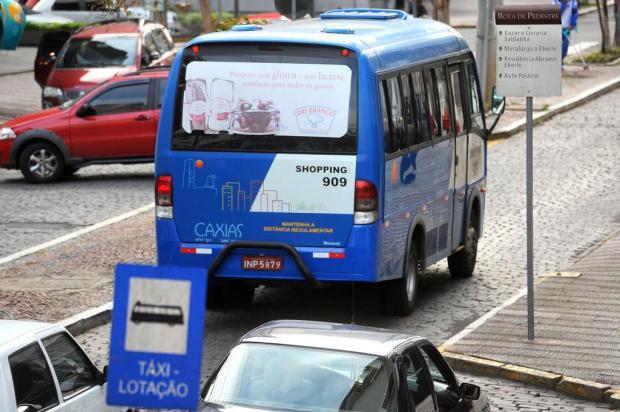 Serviço de táxis-lotação deve receber mais linhas e veículos em Caxias Diogo Sallaberry/Agencia RBS