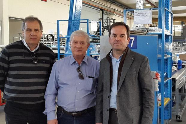 Empresa italiana reúne-se com empresários em Caxias do Sul Dário Vivian/divulgação