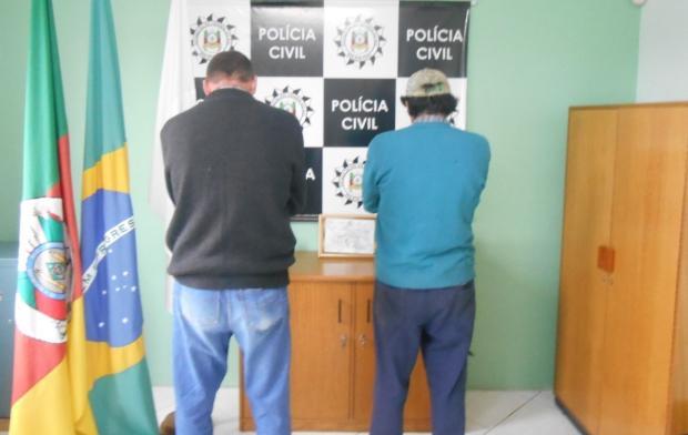 Após briga entre irmãos, Polícia Civil deflagra operação em São Marcos Polícia Civil / divulgação/divulgação