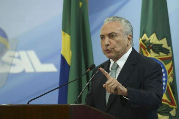 Lideranças caxienses comentam decisão de Temer em permanecer na presidência da República Valter Campanato/Agência Brasil
