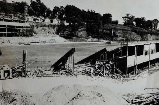 Memória: primórdios das obras do Centenário Foto Luz/Divulgação