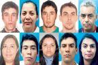 Polícia Civil divulga quem são os 10 procurados por roubos a banco Divulgação/