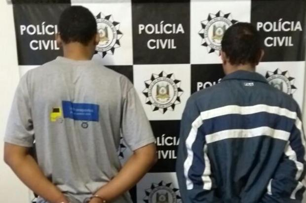 Suspeitos de matar taxista durante assalto são presos preventivamente em Caxias do Sul Polícia Civil/Divulgação