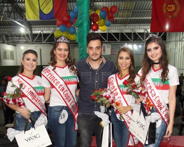 Rainha e princesas da Copa Caxias de futebol amador são conhecidas Daniel Andrade / Divulgação/Divulgação