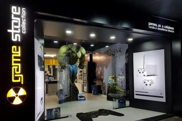 Nova loja de games em Caxias demandou R$ 250 mil em investimento Thiago Prado/divulgação