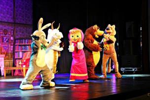 """Agenda: Espetáculo infantil """"Masha e o Urso"""" estará em cartaz, em Caxias Kids Festival Entretenimento/Divulgação"""