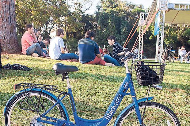 Sistema de compartilhamento de bicicletas em universidade de Lajeado completa três anos Nicole Morás / Divulgação/Divulgação