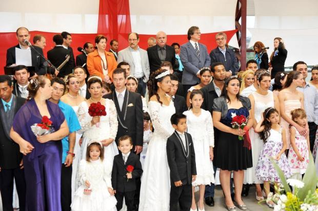 Abertas as inscrições para o Casamento Comunitário, em Caxias Andréia Copini/Divulgação