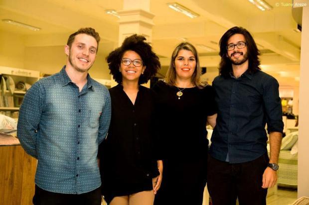 Quatro jovens empreendedores criam Escola Caxias Criativa Tuany Areze/divulgação