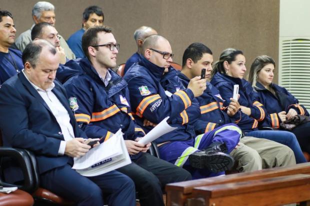 Brasão do município em jaquetas de agentes voluntários de defesa, em Caxias, gera conflito Luiz Erbes/Divulgação