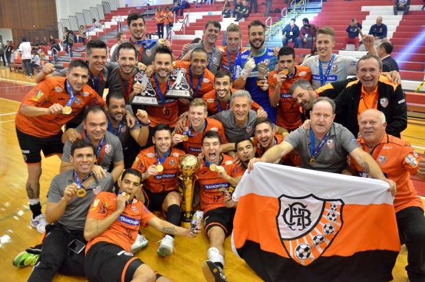 ACBF vence Cerro Porteño por 2 a 1 e é campeã da Copa Libertadores de Futsal 2017 Ulisses Castro / ACBF/ACBF
