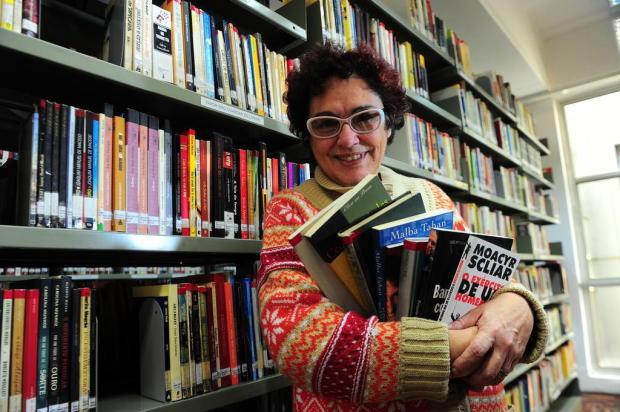 """""""Eu sou amiga do livro, sim"""", diz homenageada da Feira do Livro Porthus Junior/Agencia RBS"""