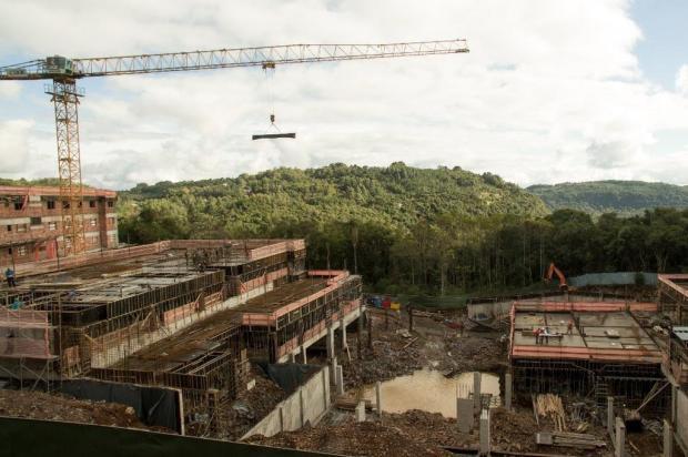 Novo resort de Gramado será inaugurado em 2018 drone da Gramado Parks/reprodução