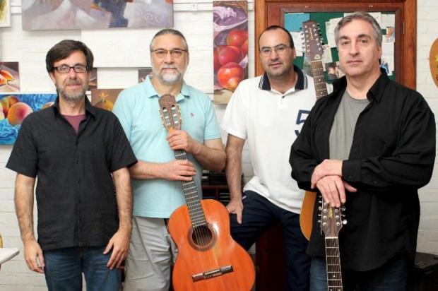 3por4: Banda Rota Lunar faz ensaio aberto, em Caxias João Geraldo Silveira/Divulgação