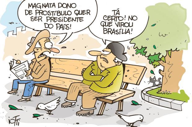 Iotti: e as notícias de Brasília... Iotti/