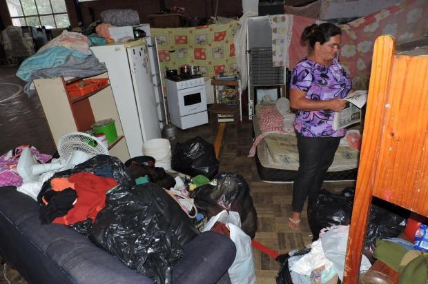 Moradores afetados pela cheia do rio devem começar a voltar para casa nesta quarta em São Sebastião do Caí Ricardo Marques/Divulgação