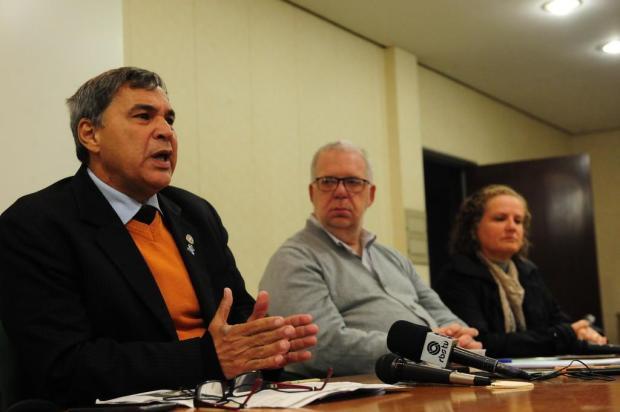 """""""Não queremos guerra"""", diz diretor da Federação dos Médicos em Caxias Roni Rigon/Agencia RBS"""