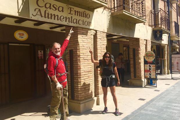 Um passo a mais: lembranças em Pueblo de Los Arcos Divulgação/