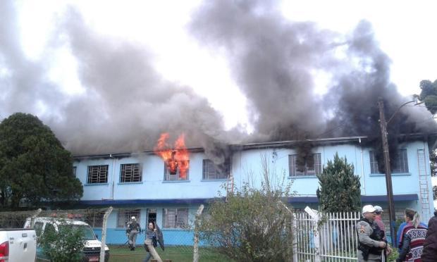 Vacaria arrecadou mais de R$ 1,2 milhão para reconstruir asilo que pegou fogo Ricardo Dorigatti /Arquivo pessoal