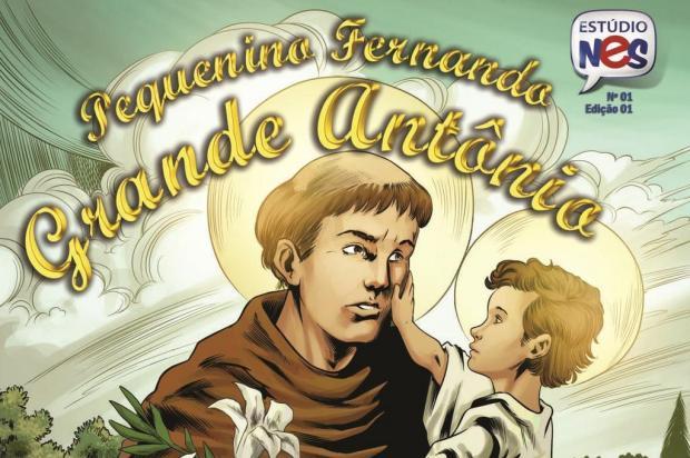 3por4: Gibi sobre Santo Antônio será lançado em Bento Reprodução/Reprodução