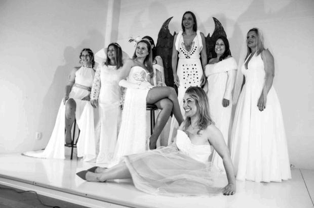 3por4: Desfile de vestidos de noiva inspirados no cinema ocorre em Caxias Jeferson Picetti/Divulgação