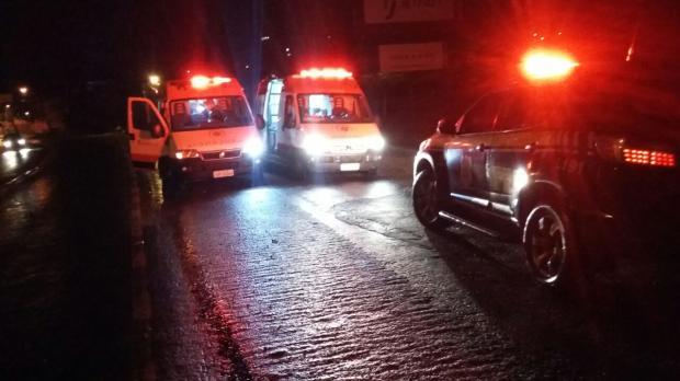 Jovem fica ferido em atropelamento na BR-116, em Caxias do Sul /