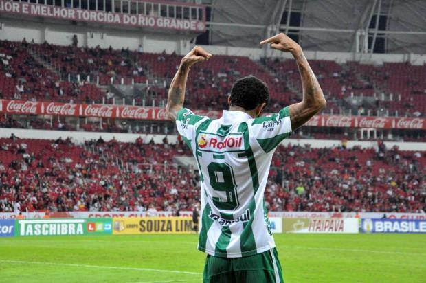 Artilheiro do Juventude volta a ser decisivo na Série B Arthur Dallegrave/Juventude/Divulgação