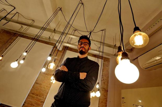 """A sociedade está ainda muito linear e industrial"", diz o futurista Tiago Mattos Lauro Alves/Agencia RBS"