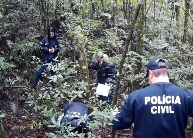 Polícia encontra corpo de homem que estava desaparecido em Caxias do Sul Polícia Civil / divulgação/divulgação