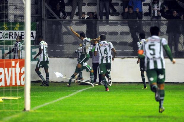 Juventude vence Criciúma com gol no final e assume a liderança isolada Felipe Nyland/Agencia RBS