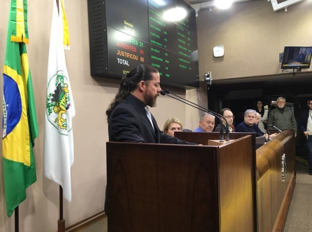 Renato Nunes assume vaga na Câmara de Vereadores de Caxias Suelen Mapelli/Agência RBS