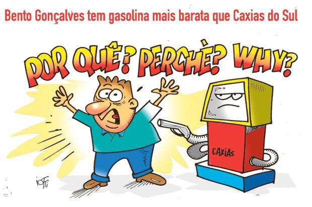 Iotti: Já comparou o preço da gasolina entre Caxias e Bento? Iotti / Divulgação /Divulgação