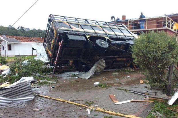 Temporal causa uma morte no distrito de Vila Oliva, em Caxias Ricardo Daneluz / Divulgação/Divulgação
