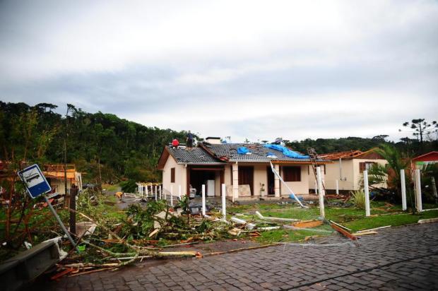 Após o temporal, a previsão é de neve Marcelo Casagrande/Agencia RBS