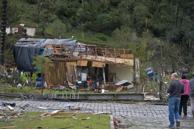 60 mil clientes da RGE ainda permanecem sem luz devido ao temporal Marcelo Casagrande/Agencia RBS