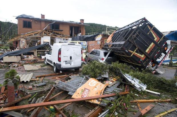 Conclusão sobre o que provocou estragos em Vila Oliva, em Caxias do Sul, deve sair em 10 dias Marcelo Casagrande/Agencia RBS