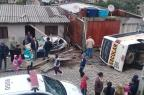 Acidente com van escolar deixa oito estudantes feridos em Caxias do Sul Marcelo Carvalho de Oliveira / Divulgação/Divulgação