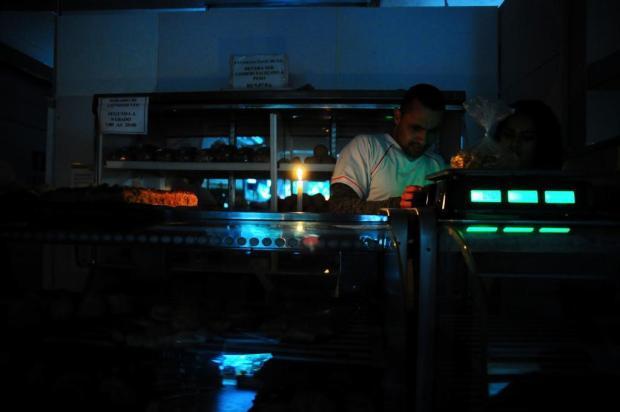 Falta de energia elétrica prejudica comércio de Caxias Marcelo Casagrande/Agencia RBS
