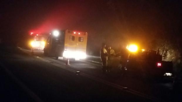 Motorista morre em acidente entre dois caminhões na BR-116, em Vacaria Polícia Rodoviária Federal/Divulgação