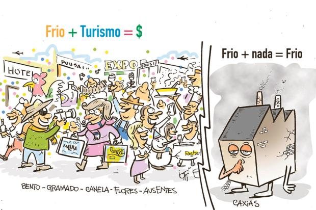 Iotti: frio movimenta turismo em algumas cidades da Serra... Iotti/