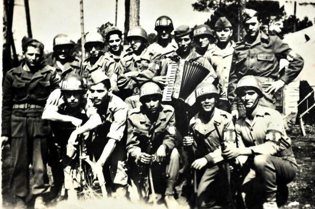 Memória:José Faggion na 2ª Guerra Mundial Reprodução/Divulgação