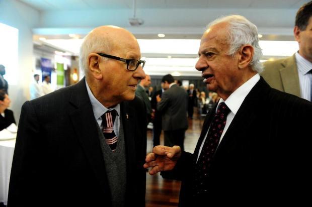 """Pedro Simon sobre o amigo Paulo Bellini: """"Ele fez aquela fábrica com amor"""" Roni Rigon/Agencia RBS"""