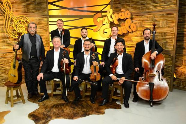 """3por4: Lucio Yanel e grupo de cordas da Osucs são atração no """"Galpão Crioulo"""" deste domingo Felipe Goldenberg/Divulgação"""