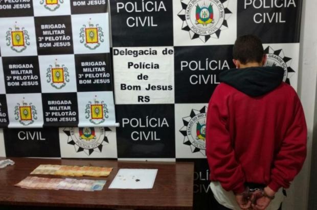 Jovem preso em Bom Jesus responde pela autoria de quatro homicídios Polícia Civil/Divulgação