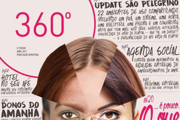 3por4: Nova edição da Revista 360º é lançada em Caxias Reprodução/Reprodução