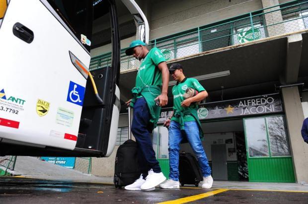 Quilômetros de invencibilidade: O desgastante começo longe de casa do Juventude na Série B Roni Rigon/Agencia RBS