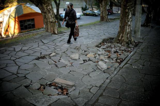 Projeto que padroniza calçadas em Caxias será votado nesta terça-feira Diogo Sallaberry/Agencia RBS