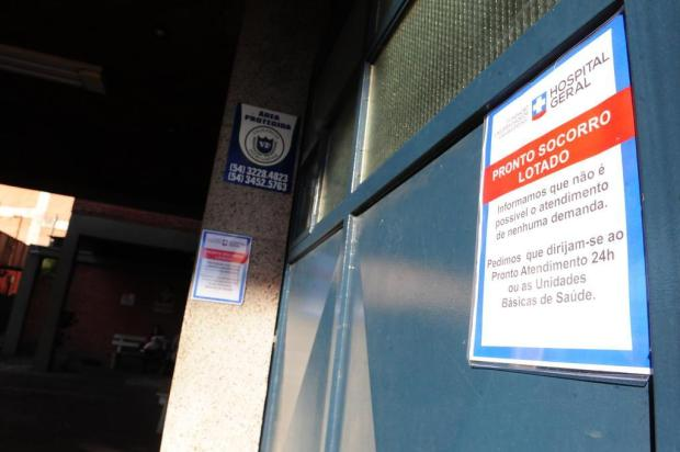 Devido à superlotação, Hospital Geral de Caxias fecha pronto-socorro  Roni Rigon/Agencia RBS