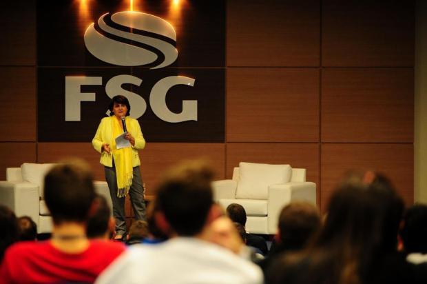 """""""Tenho obsessão por uma sociedade mais ética"""", diz jornalista Rosane de Oliveira, em Caxias do Sul Marcelo Casagrande/Agencia RBS"""